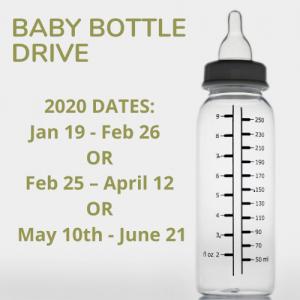Baby Bottle Drive Dates